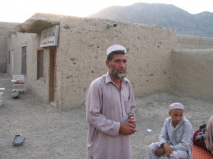 Dr. Akhbar was the first person ODA 316 met in Mangwel village