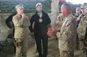 Downrange: An Informal Report on a trip to Afghanistan with Marine Gen ...