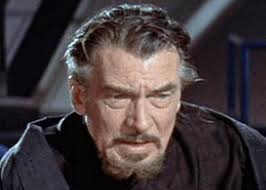 "Walter Pidgeon in ""Forbidden Planet"""
