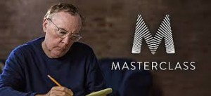 James Patterson, seen here on his MasterClass.com course, maintains a big file of NEW IDEAS