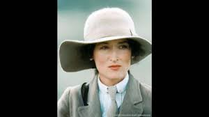 "Meryl Streep in ""Out of Africa."" The fashion was great, but she still had to suffer"