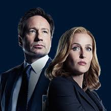 David Duchovny and Gillian Anderson. The truth is out there -- on at least six levels.