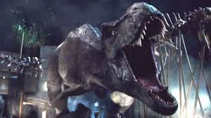 """The subject is dinosaurs. The theme is, """"Don't mess with Mother Nature."""""""