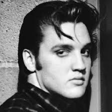 Elvis was worried that he'd have to smile.