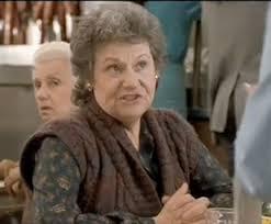 "Estelle Reiner referring to Meg Ryan in ""When Harry Met Sally"""