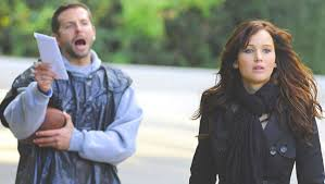 """So think about that dance thing."" Bradley Cooper and Jennifer Lawrence in ""Silver Linings Playbook."""
