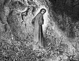 "Dante in a dark wood. ""Didn't we pass that same tree half an hour ago?"""