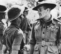 General William Slim in Burma, 1943