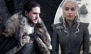 Jon Snow and Daenerys Targaryen. No, I won't reveal the spoiler.