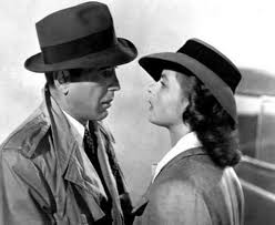 """We'll always have Paris."" Bogey and Bergman in ""Casablanca"""