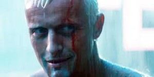 "Villain or hero? Rutger Hauer as Roy Batty in the 1978 ""Blade Runner"""