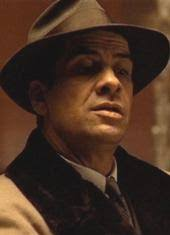 "Al Lettieri as Virgil ""The Turk"" Sollozzo in ""The Godfather, Part One"""