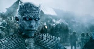 "The Night King and the Army of the Dead. When we know what these suckers want, we can write the next season of ""Game of Thrones"""